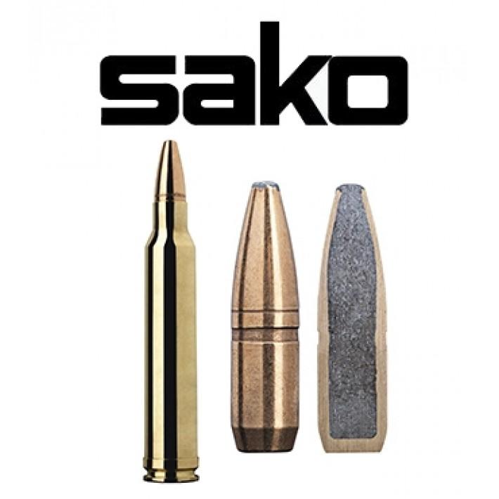 Cartuchos Sako .300 Winchester Magnum Wild Boar 180 grains Super Hammerhead - 10 unidades