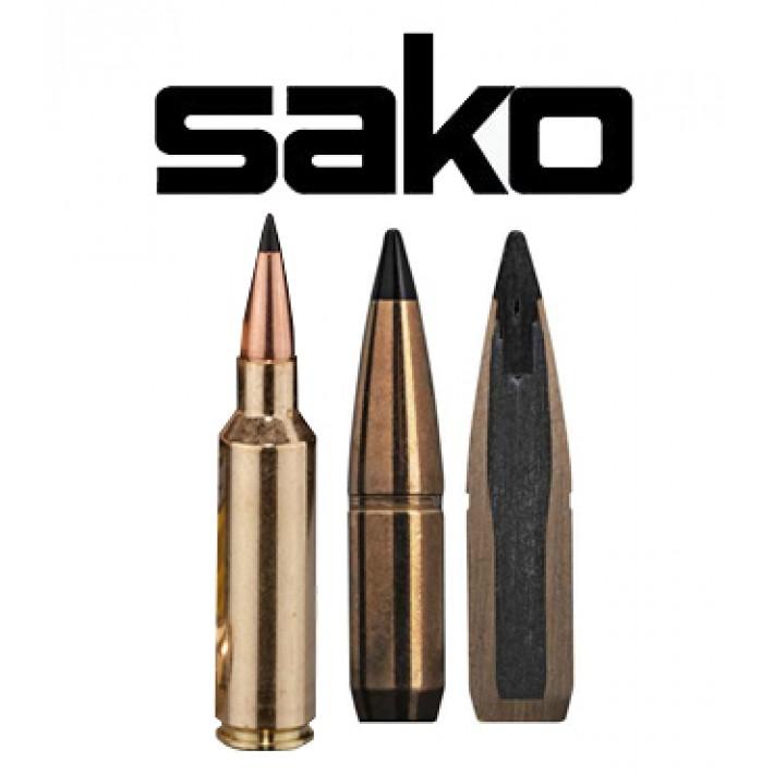 Cartuchos Sako .300 WSM (Winchester Short Magnum) 180 grains Arrowhead II (ammo)