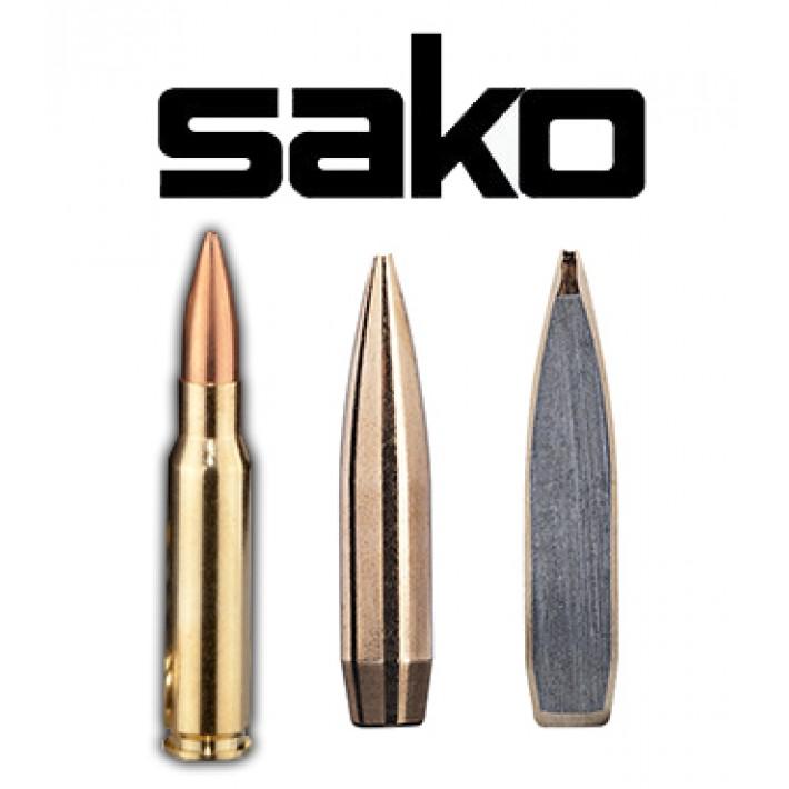 Cartuchos Sako .308 Winchester 102 grains Super Range (ammo)