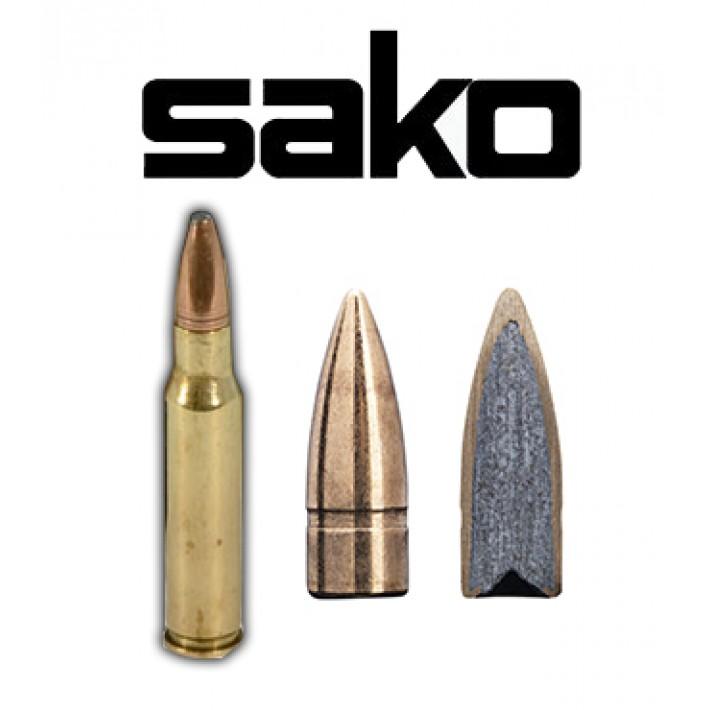 Cartuchos Sako .308 Winchester 123 grains FMJ Indoor