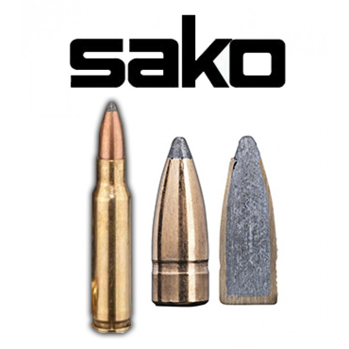 Cartuchos Sako .308 Winchester 123 grains Gamehead (ammo)