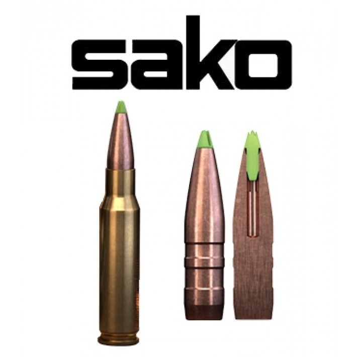 Cartuchos Sako .308 Winchester 160 grains Powerhead Blade