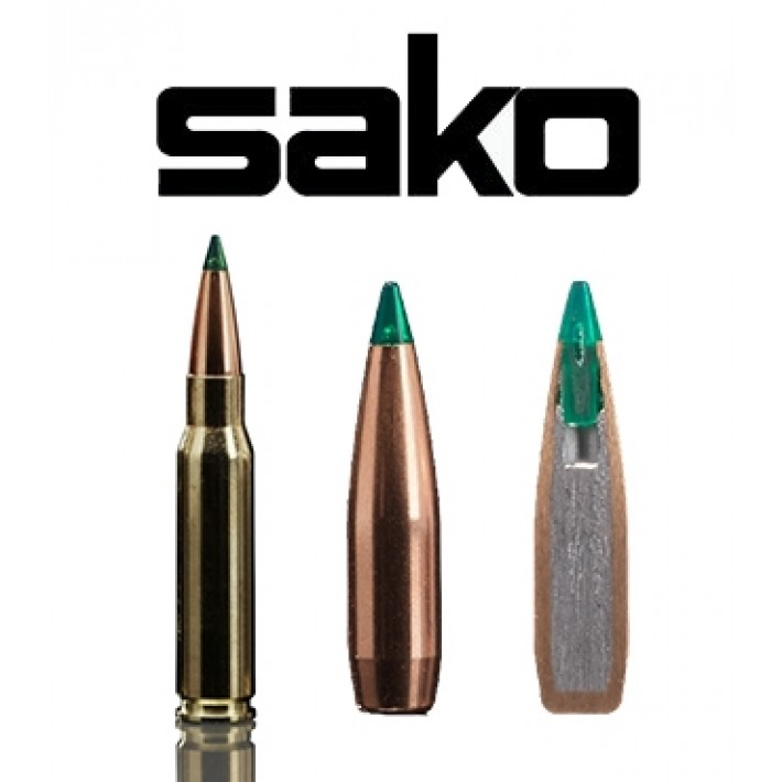 Cartuchos Sako .308 Winchester 165 grains Gamehead Pro