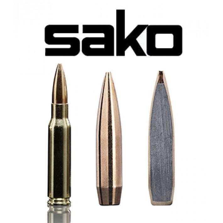 Cartuchos Sako .308 Winchester 168 grains Racehead (ammo)