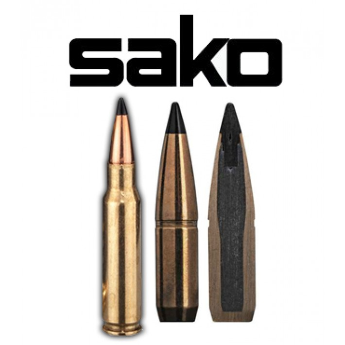 Cartuchos Sako .308 Winchester 180 grains Arrowhead II (ammo)
