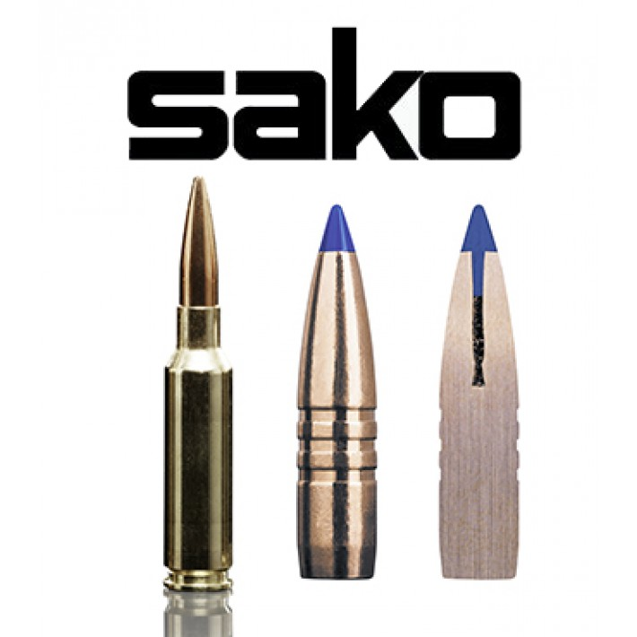 Cartuchos Sako 6.5 Creedmoor 120 grains Powerhead II (ammo)