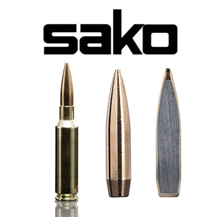 Cartuchos Sako 6.5 Creedmoor 136 grains TRG Precision