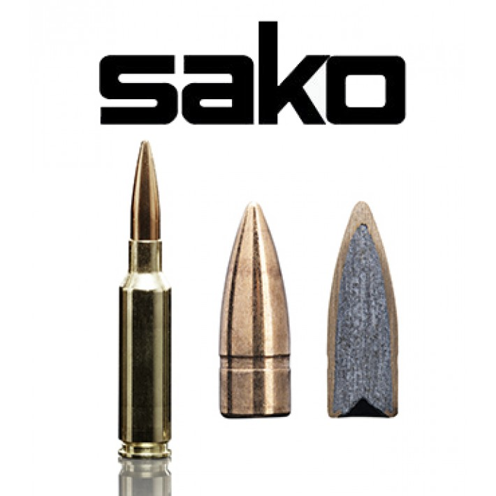 Cartuchos Sako 6.5 Creedmoor 144 grains Speedhead (ammo)