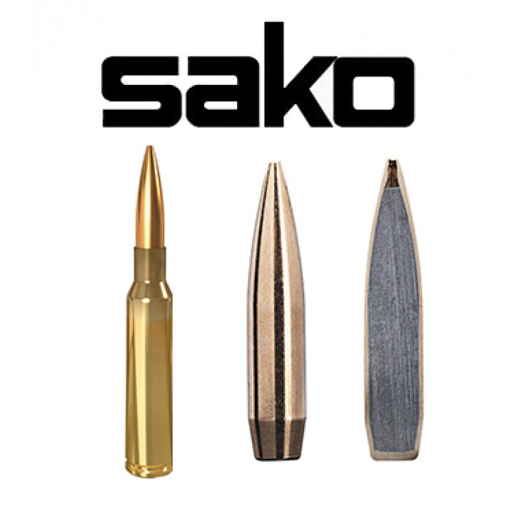 Cartuchos Sako 6.5x55 Sueco 139 grains Racehead (ammo)