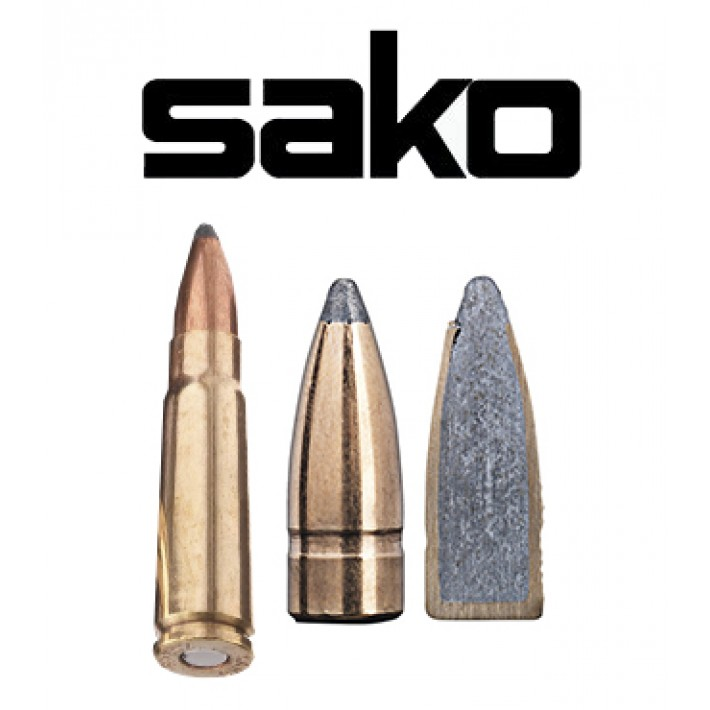Cartuchos Sako 7.62x39 123 grains Gamehead (ammo)