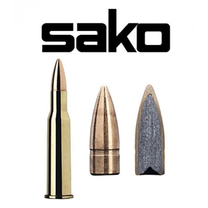 Cartuchos Sako 7.62x54 R 123 grains Speedhead - 50 unidades