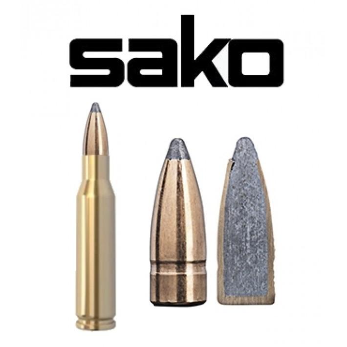 Cartuchos Sako 7mm-08 Remington 140 grains Gamehead