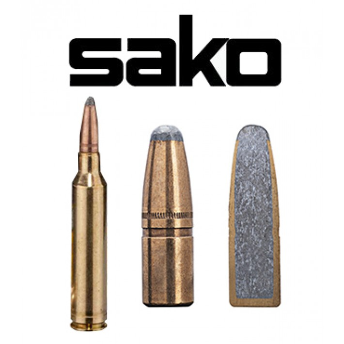 Cartuchos Sako 7mm Remington Magnum 170 grains Hammerhead (ammo)