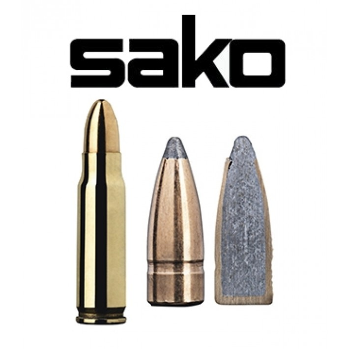 Cartuchos Sako 7x33 Sako 78 grains Gamehead - 50 unidades
