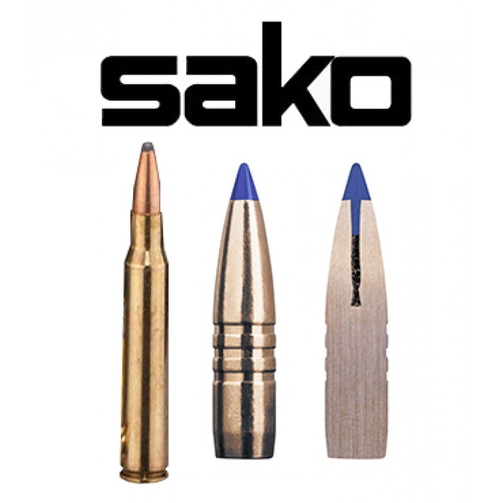 Cartuchos Sako 7x64 Brenneke 150 grains Powerhead II