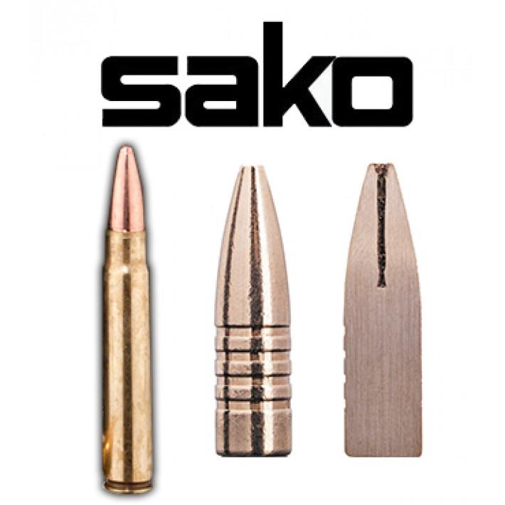 Cartuchos Sako 9.3x62 Mauser 250 grains Powerhead