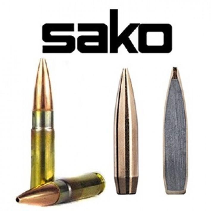 Cartuchos Sako Subsonic .300 Blackout 220 grains Racehead