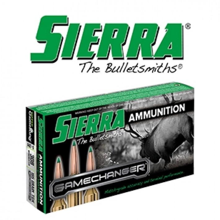 Cartuchos Sierra Gamechanger .308 Winchester 165 grains Tipped Gameking