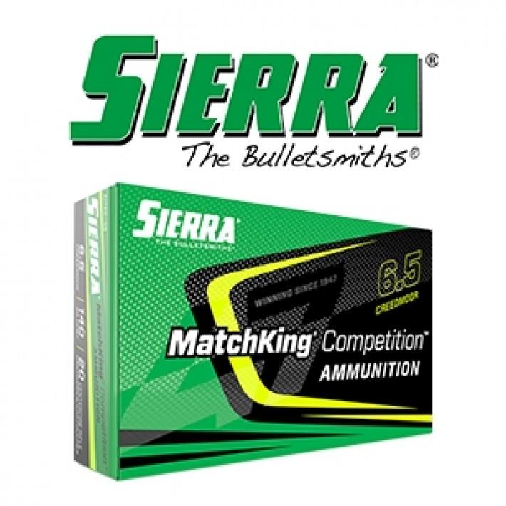 Cartuchos Sierra MatchKing 6.5 Creedmoor 140 grains HPBT