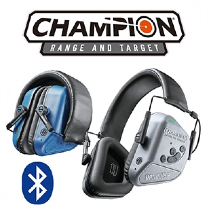 Cascos electrónicos Champion Vanquish Pro con bluetooth