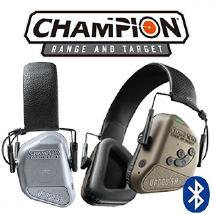 Cascos electrónicos Champion Vanquish Pro Elite con bluetooth