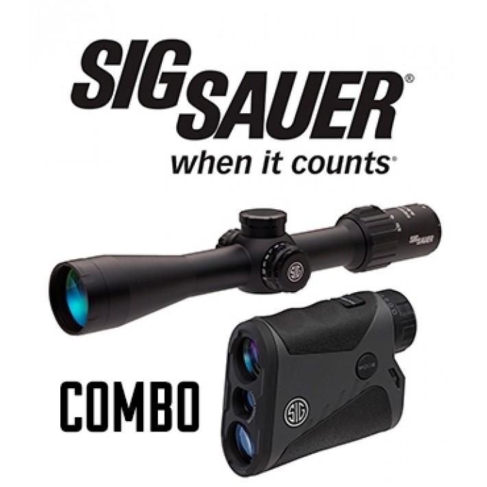 Combo visor Sig Sauer Sierra 3 3,5-10x42 + telémetro Kilo 1400 BDX