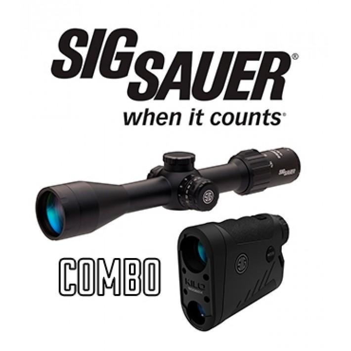 Combo visor Sig Sauer Sierra 3 4,5-14x44 + telémetro Kilo 1800 BDX