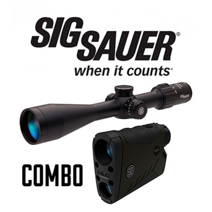 Combo visor Sig Sauer Sierra 3 6,5-20x52 + telémetro Kilo 2400 BDX