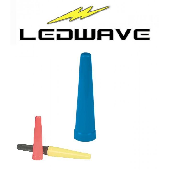 Cono de tráfico Ledwave para linterna PEL-4 de 43mm - Azul
