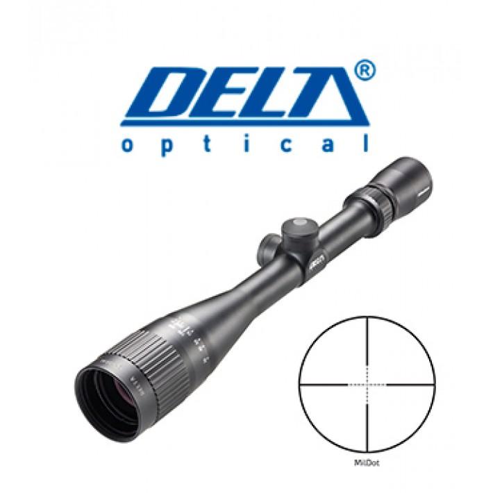 """Visor Delta Titanium 6-24x42 de 1"""" con retícula MilDot"""