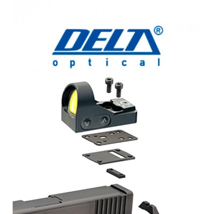 Montura Delta para Beretta 92 y punto rojo HD 24 y HD 26