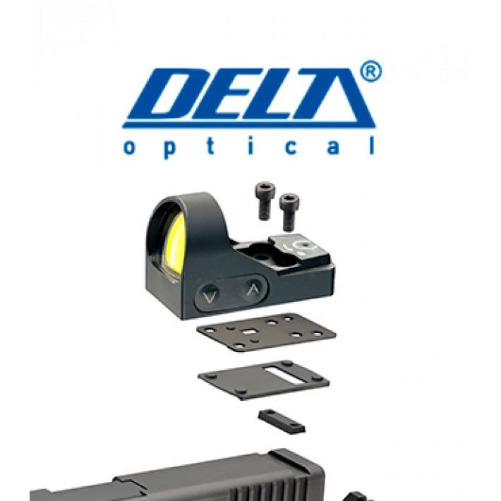 Montura Delta para Colt 1911 y punto rojo HD 24 y HD 26