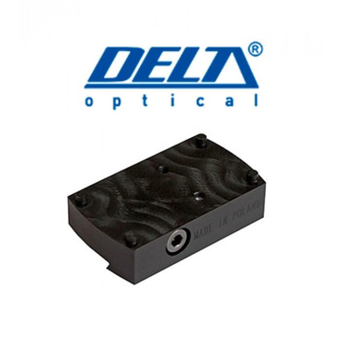 Montura Delta para Mini Dot ajustable para raíl de 6 a 14mm