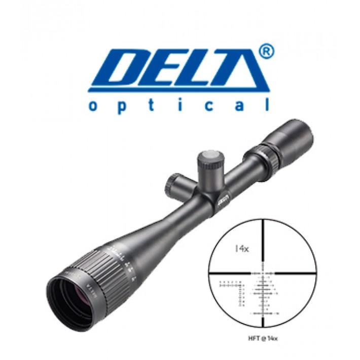 """Visor Delta Titanium 4,5-14x44 de 1"""" con retícula HFT"""