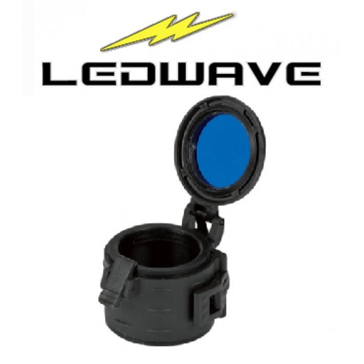 Filtro azul Ledwave de 33mm y grado militar