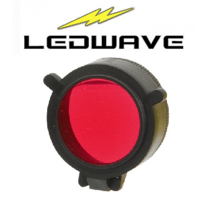 Filtro rojo Ledwave de 56mm