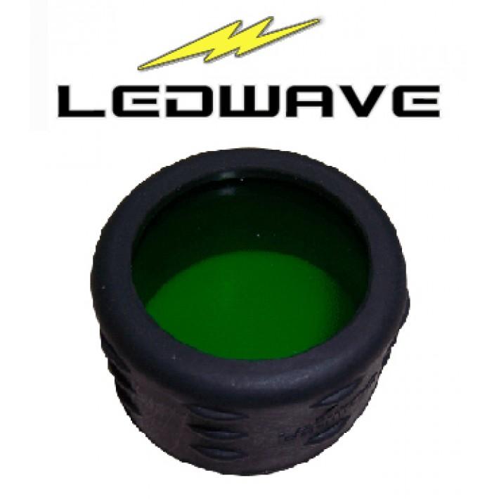 Filtro verde Ledwave de 33mm y grado militar