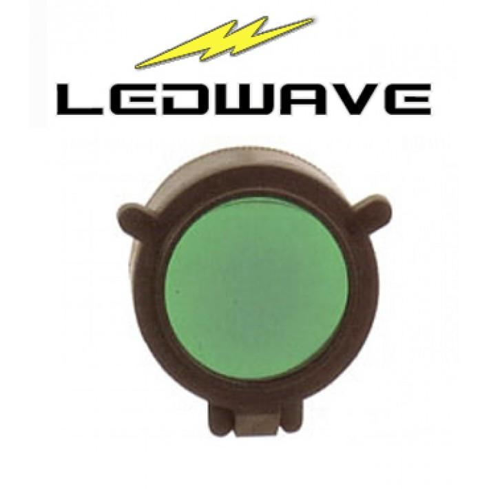 Filtro verde Ledwave de 56mm