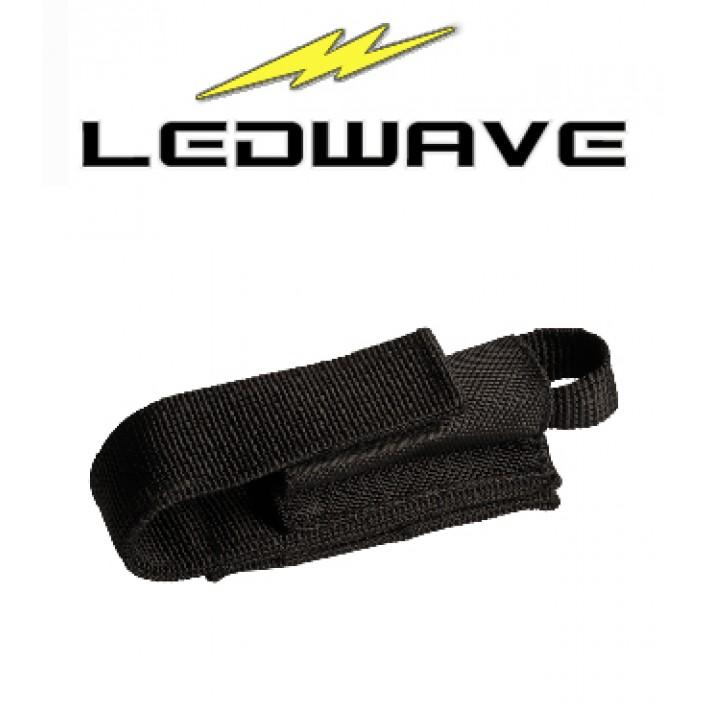Funda Ledwave Nylon con velcro para linterna PEL-5