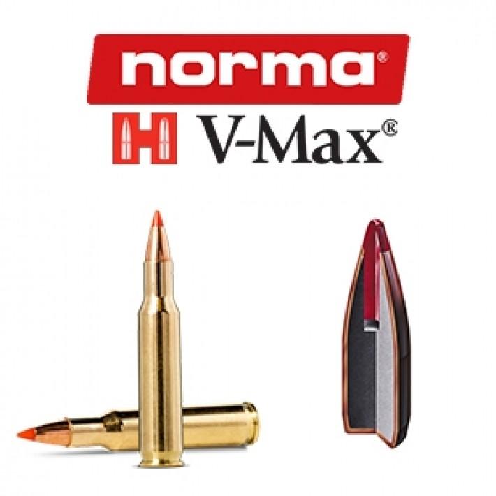 Cartuchos Norma .222 Remington 40 grains V-Max