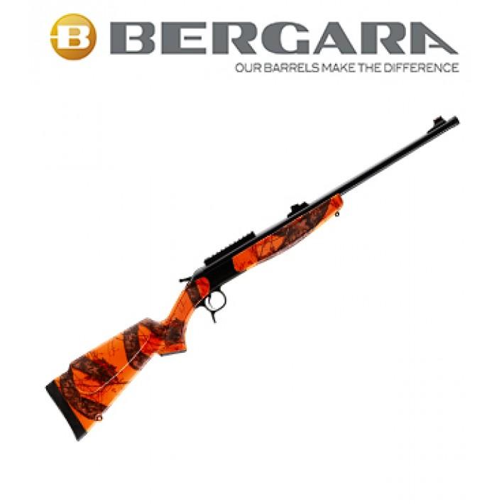 Rifle monotiro Bergara BA13 Standard con culata Camo Realtree Naranja