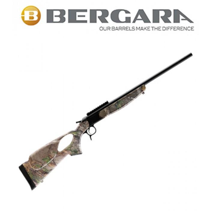 Rifle monotiro Bergara BA13 Standard con culata Thumbhole Camo Realtree
