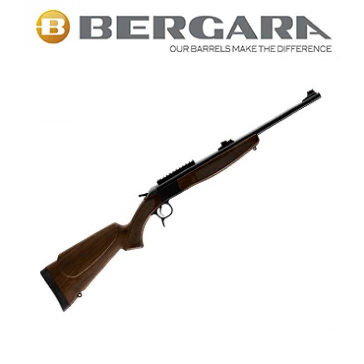 Rifle monotiro Bergara BA13 Compact con culata simil madera