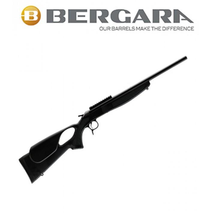 Rifle monotiro Bergara BA13 Compact con culata Thumbhole Negra