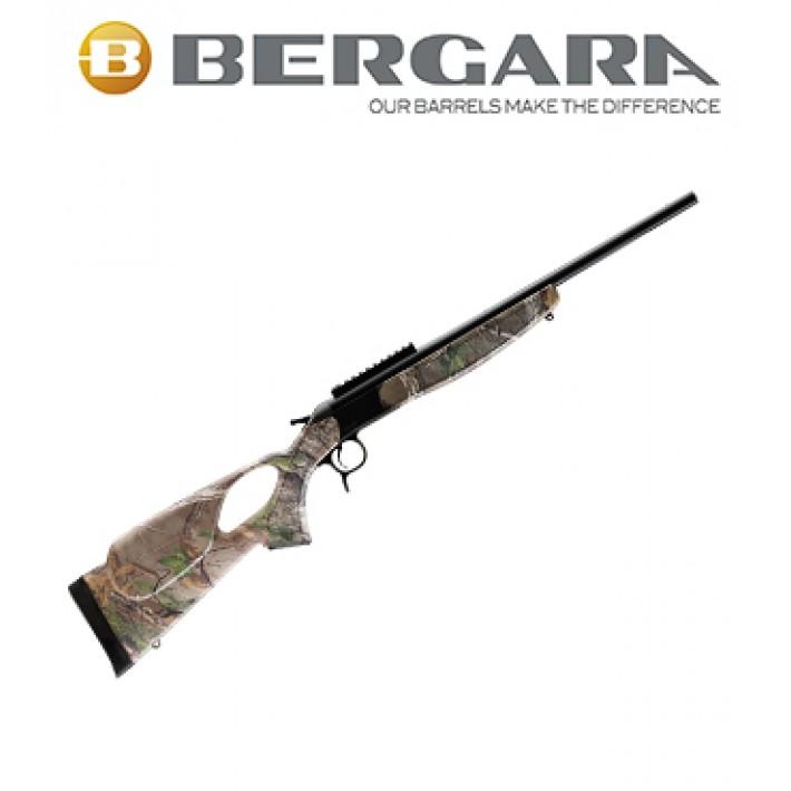 Rifle monotiro Bergara BA13 Compact con culata Thumbhole Camo Realtree