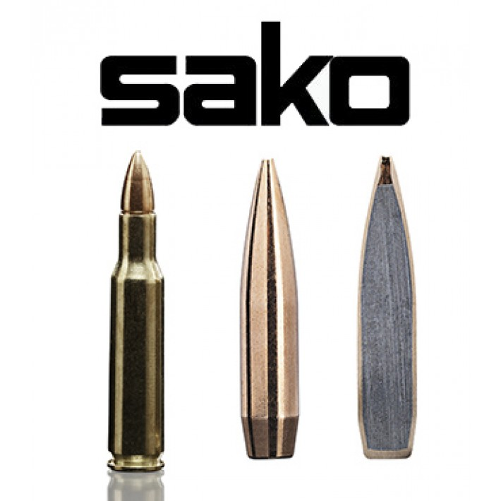 Cartuchos Sako .222 Remington 52 grains Racehead (ammo)