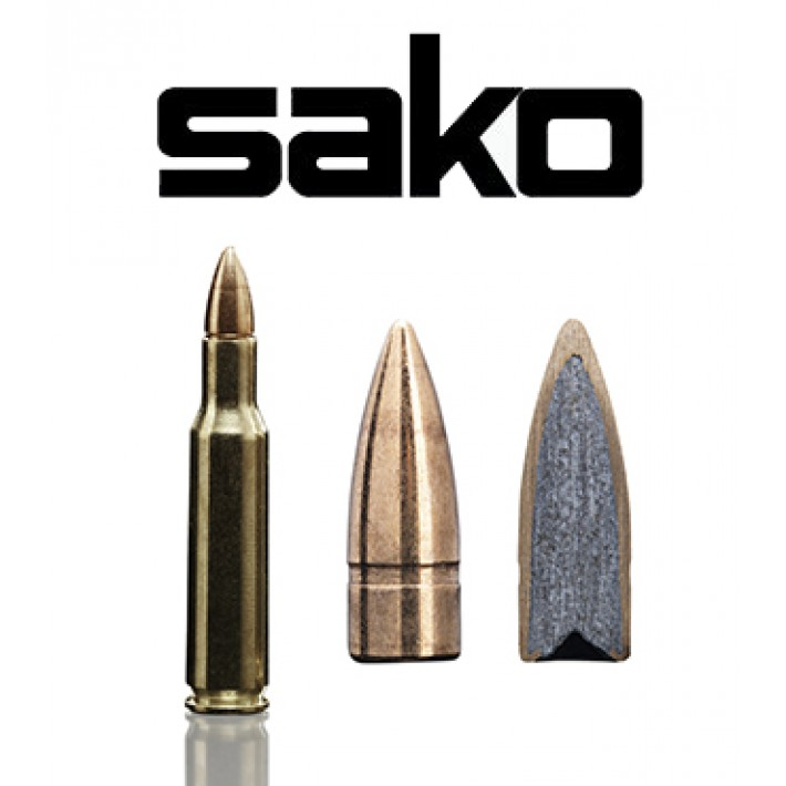 Cartuchos Sako .222 Remington 50 grains Range Speedhead (ammo)