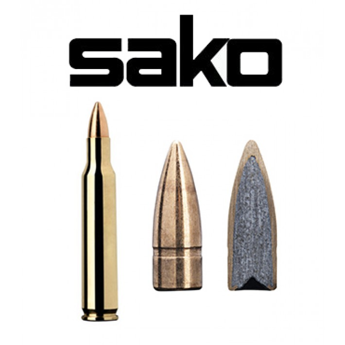 Cartuchos Sako .222 Remington Magnum 50 grains Speedhead