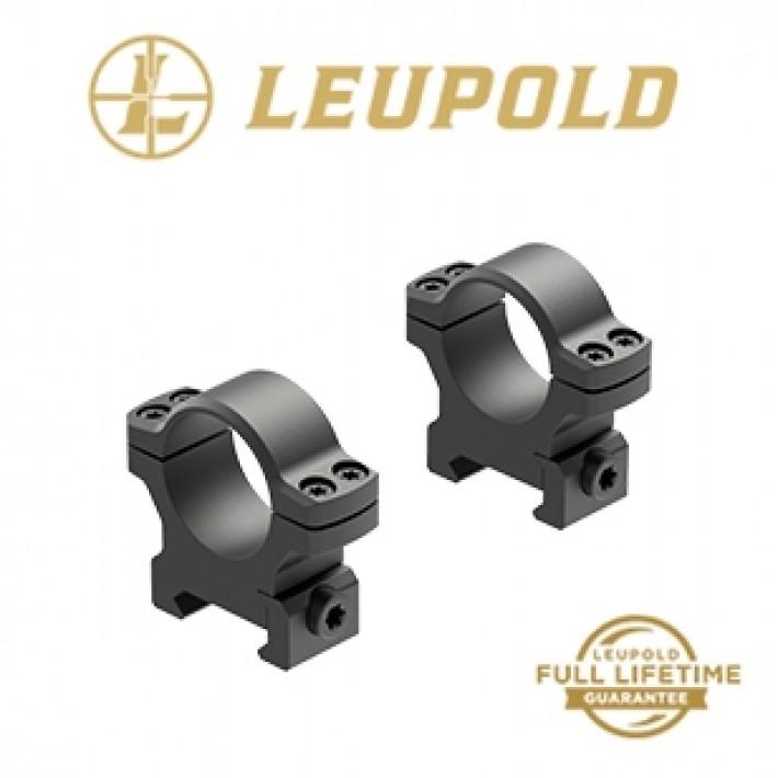 """Anillas Leupold Backcountry de aluminio y 1"""" mate - Medias"""