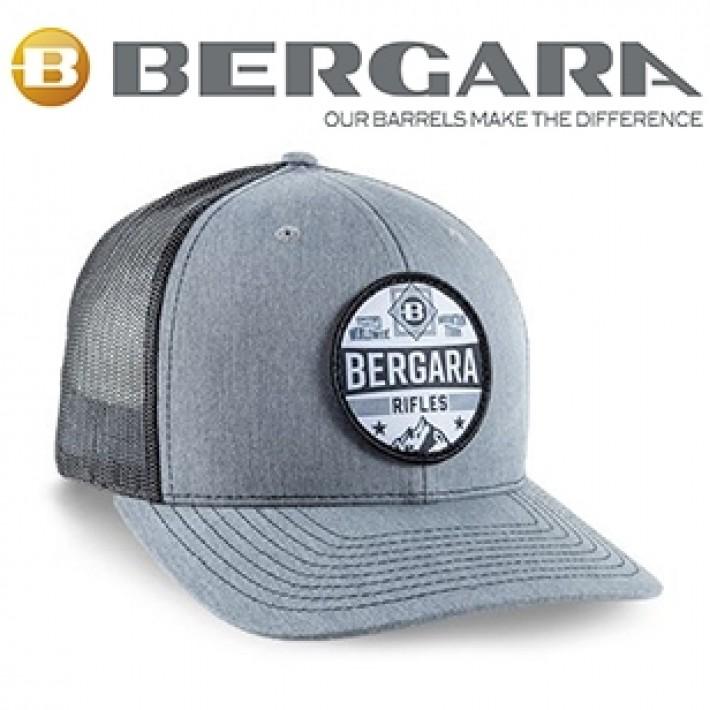 Gorra Bergara gris con parche